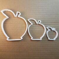 Apple Fruit Food Plant Shape Cookie Cutter Dough Biscuit Pastry Fondant Sharp