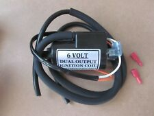 COIL12 BOYER BRANSDEN 6V 6 VOLT 2 OHM DUAL OUTPUT IGNITION COIL WITH 90mm PITCH