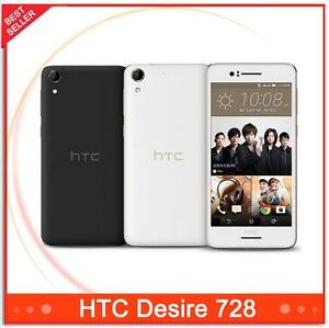 "Android HTC Desire 728 4G Lte RAM Dual SIM 2GB ROM 16GB 5.5"" 13MP Octa Core"