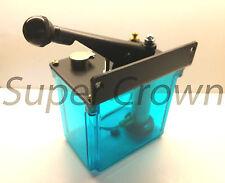 BIJUR-style Lubrication Unit, 2 liter LA-20 Oil Pump, 8CC One Shot,Left Hand CNC