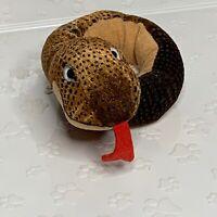 "Vintage GUND Plush Snake Charmers Toy Poseable Stuffed Animal Bendable 22"""