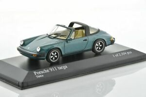 PORSCHE 911 TARGA 1977 1/43 MINICHAMPS 400061260