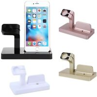 Dual Charging Dock Cradle Stand Charger for Apple Watch & iPhone X/Xr/Xs/Xs Max