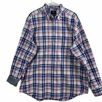 Charles Tyrwhitt Classic Fit Mens Size XL Button Down Flannel Shirt Long Sleeve