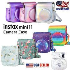 Fujifilm Instax Mini 11/9/8 Instant Camera Pu Leather Bag Carry Cover Cases USA
