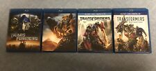 Transformers Collection Age Of Extinction Dark Of The Moon Plus 2 More! 4 MOVIES