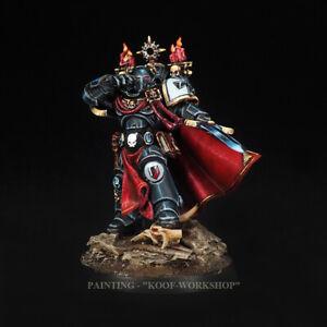 Warhammer 40k Painted Black Templar emperor's champion