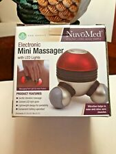 NuvoMed Electronic Mini Massager New Open Box Still in Packaging