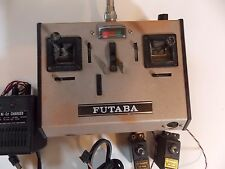 Futaba FP-T4FN RC Reciever/Transmitter with servos and charger