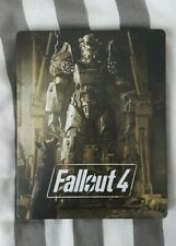 Fallout 4 Limited Edition PS4 Steelbook Case + Postcards (No Game)