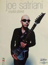JOE SATRIANI GUITAR TAB / TABLATURE / CRYSTAL PLANET / GUITAR SONGBOOK