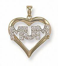 Or Maman Pendentif Coeur Maman Collier Pendentif Coeur Collier Coeur