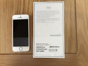 Apple IPhone SE 16GB Rose Gold - Locked For EE