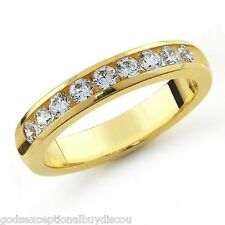 MENS WOMENS 14K YG DIAMOND WEDDING BAND RING SZ 10 SZ 11 SZ 12 SZ 13 + GIFT!