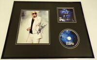 Pitbull Signed Framed 16x20 Photo & Planet Pit CD Display