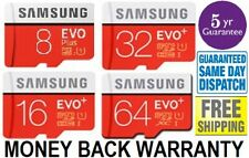 SAMSUNG EVO Plus Micro SD 8,16,32,64GB Class10 U3 Flash Memory Card w/SD Adapter