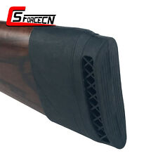 Tactical Rifle Shotgun Slip On Recoil Pad Butt Gun Stock Rubber Protector Black