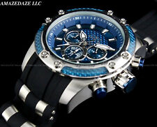 NEW Invicta Men 50mm Speedway Hybrid Scuba Chronograph BLUE DIAL SS Watch !!
