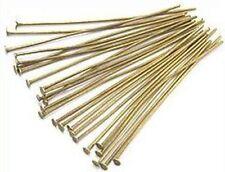 Headpins (kettelstifte) Antik colores aprox. 5cm 25stk