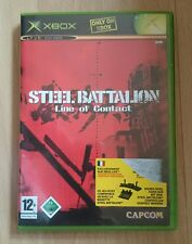 Steel Battalion: Line Of Contact (Microsoft Xbox, 2004, DVD-Box)