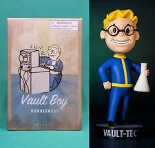 "Fallout 3 Vault Boy 5"" Science 101 Bobblehead (Series #3) NIB Vault-Tec Pip Boy"