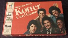 WELCOME BACK KOTTER   CARD GAME 1976  CLEAN  MB  TV