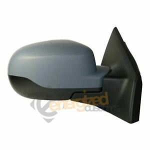 For Renault Clio Mk3 2009-2013 Electric Door Wing Mirror Primed Cover Right Side