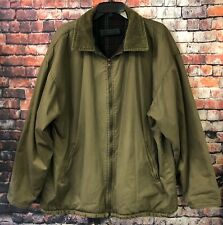 Vtg. STRUCTURE Plaid & Corduroy Wool Blend Reversible Hunting Jacket Mens Sz XL