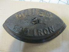 Dover No 62 Sad Iron , Antique Rustic Shabby , Doorstop, Country Farm Decor