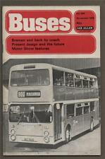 BUSES ILLUSTRATED Bremen by Coach. Blackpool to Southport.    f2.175