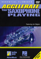Accelerate your ALTO TENOR SAXOPHONE DVD Learn to Play READ MUSIC Lesson TUTOR
