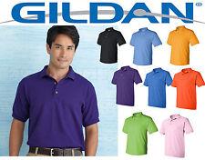 12 Golf Polo Shirts Gildan Blank Bulk Lot SMLXL Wholesale for embroidery