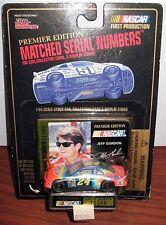 JEFF GORDON STOCK CAR 1/64 RC MATCHED SERIAL NUMBER PREMIER ED MOC