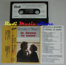 MC RENATA E MAURO io donna tu uomo LISCIO ITALIAN FOLK rodi RDN0130 cd lp vhs