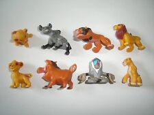 DISNEY THE LION KING FIGURINES SET 2 NESTLE - FIGURES COLLECTIBLES MINIATURES