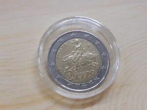 2 euro Greece 2002 coin (S Star) rare