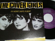 """7"""" - Cover Girls My Heart skips a Beat & Spring Love - 1989 MINT # 5699"""
