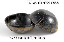 Dr. Dittmar Rasierseifenschale echt Büffelhorn HORN SCHALE Natur schwer Germany
