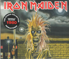 Iron Maiden - s/t Self Titled Debut CD - SEALED Digipak - Remastered First Album