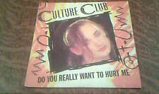 45 tours Culture Club - Do you really want to hurt me