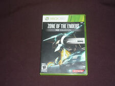 Zone of the Enders HD Collection (Microsoft Xbox 360, 2012)  COMPLETE