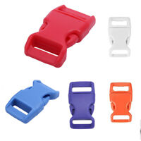 10x 15mm Plastic Side Quick Release Buckles For Webbing Bag Strap Clips 5/8 G6T5