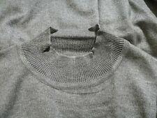 Loiz Gray Silk Cashmere Top