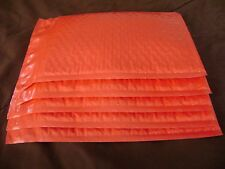 50 Red 4 x 8 Color Bubble Mailer Self Seal Envelope Padded Mailer