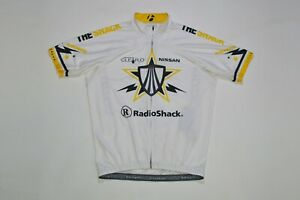 Bontrager U23 RL Race Lite SS Cycling Jersey Trek Radioshack Livestrong Size L