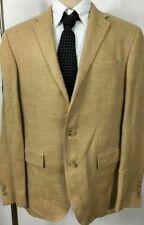 Polo Ralph Lauren Mens Suit Jacket 40 Regular Light Beige Made in Italy