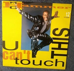 """MC HAMMER  u can't touch this   12"""" CAPITOL RECORDS 1990"""