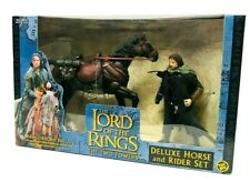 Toybiz Lord of the Rings Aragorn and Brego Action Figure Deluxe Set Brand New