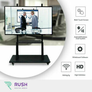 """55"""" interactive presentation touch screen (windows+android) NEW"""