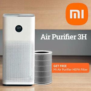 Xiaomi Mi Air Purifier 3H Purifies up to 500ft², FREE True HEPA Filter, WiFi